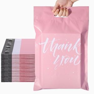 """THANK YOU poly mailer w/ handle (10) 10""""x13"""""""